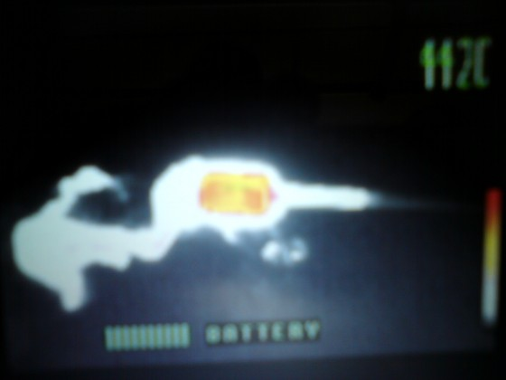 Bilder zum Thema Flammentemperatur am Feuerspielzeug