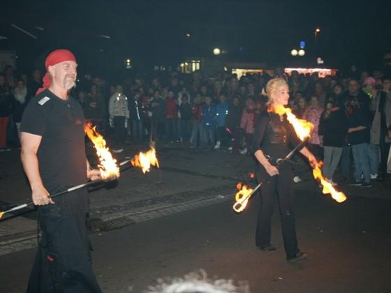 Magia della Luce in Odenkirchen auf dem Lichterfest