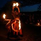Feuershow zu Ostern -> Mittelaltermarkt in Elsterberg