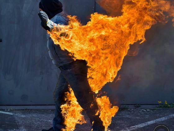 Feuerstunt Pyrometheus