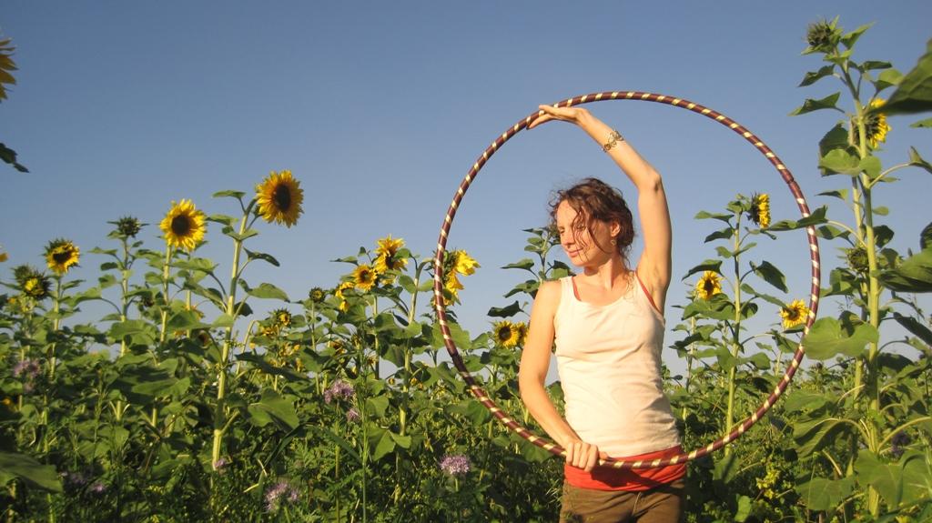 Hoop the Sunflower :)