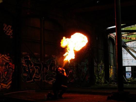 Das Feuer und ich <3