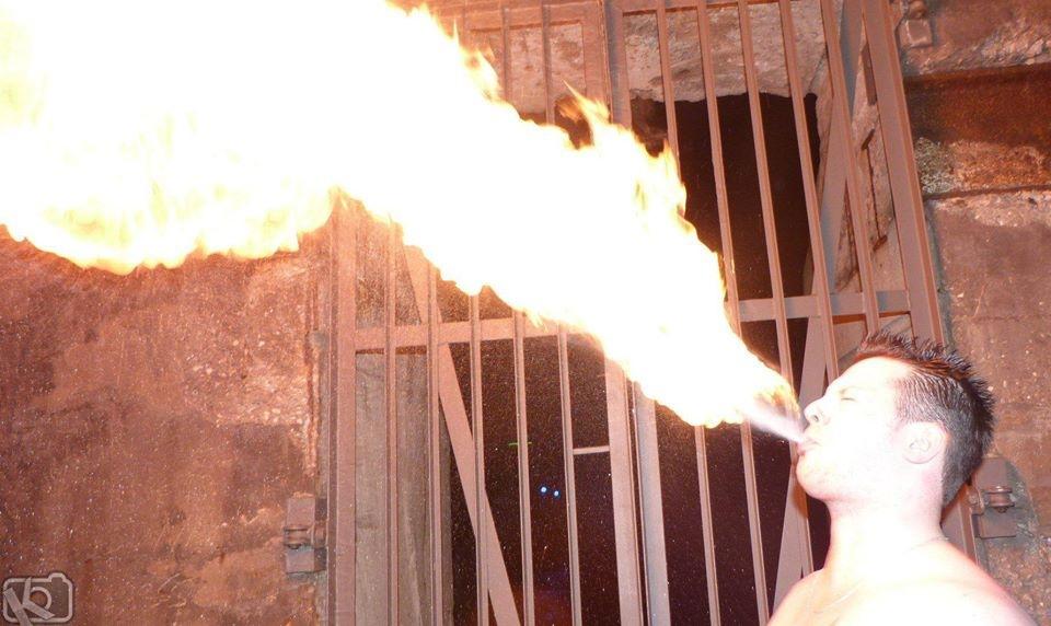 riesen flamme