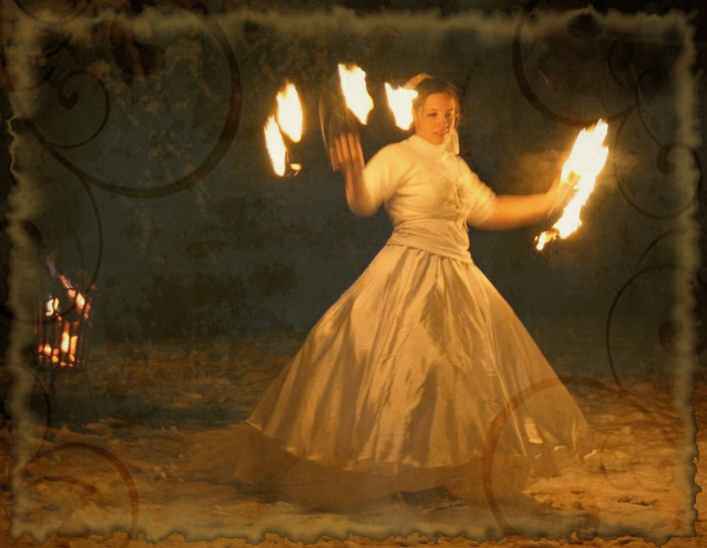 Lichterfest Liebau, michse zusammen mit 'Feaks on Fire'